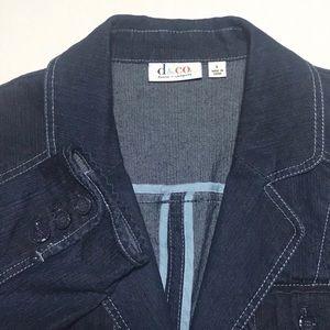 Jackets & Blazers - Denim and Company Jean Jacket Womens Large